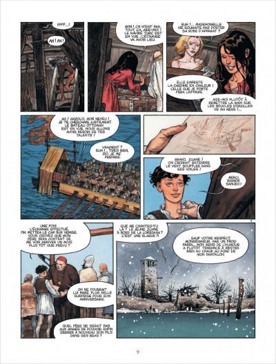 Page 9 Marina tome 1 - les enfants du Doge