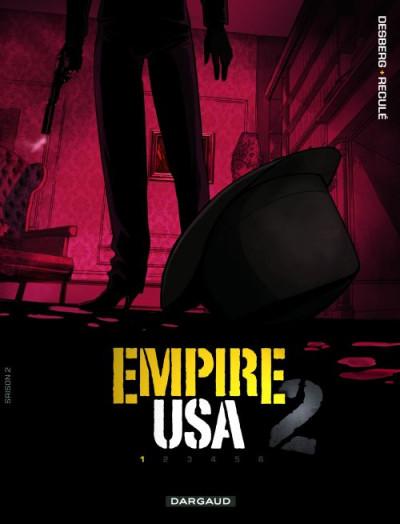 Couverture empire USA, saison 2 tome 1