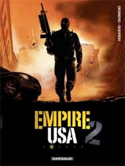 Couverture empire USA, saison 2 tome 2