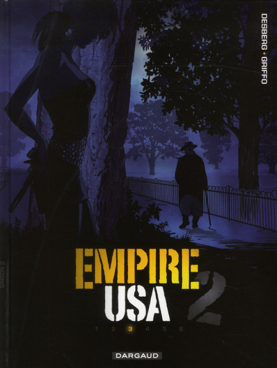Couverture empire USA, saison 2 tome 3