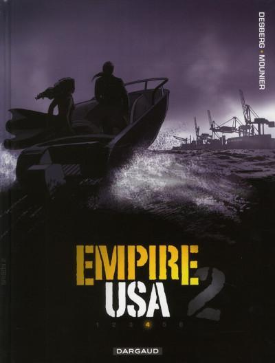 Couverture empire USA, saison 2 tome 4