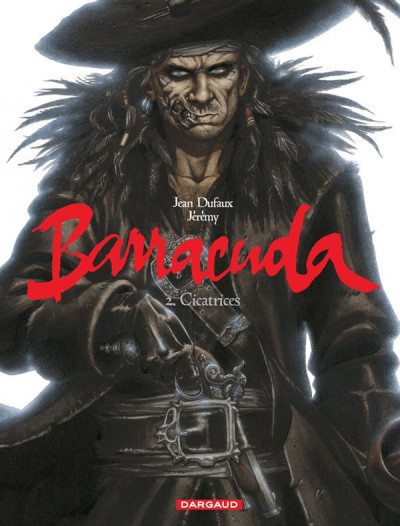 Couverture Barracuda tome 2 - cicatrices