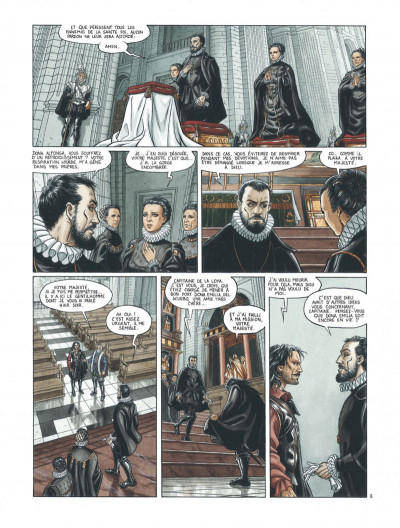 Page 4 Barracuda tome 2 - cicatrices