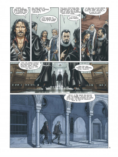 Page 5 Barracuda tome 2 - cicatrices