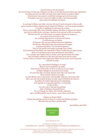 Page 2 djinn tome 11 - une jeunesse éternelle
