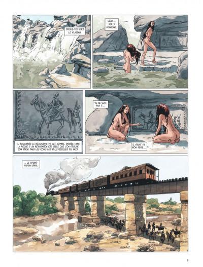 Page 5 djinn tome 11 - une jeunesse éternelle