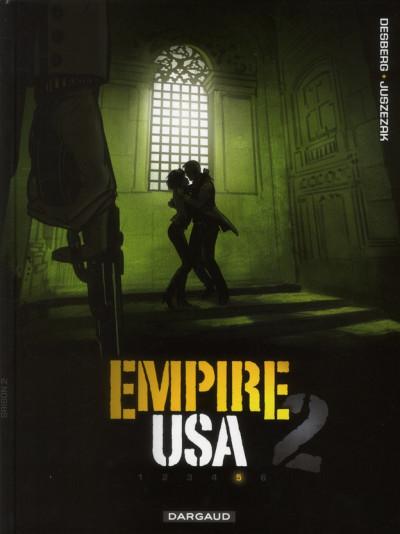 Couverture empire USA, saison 2 tome 5