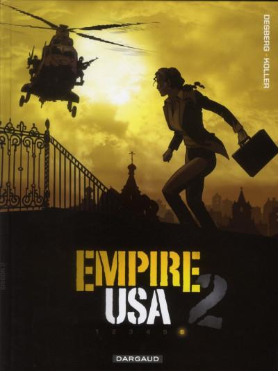 Couverture empire USA, saison 2 tome 6