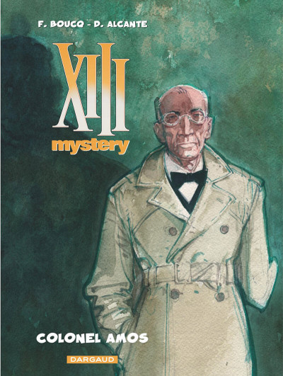 Couverture XIII mystery tome 4 - colonel Amos