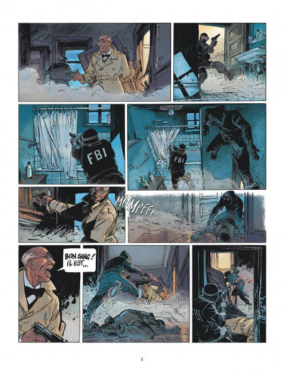 Page 5 XIII mystery tome 4 - colonel Amos