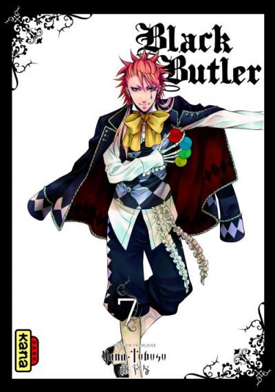 Couverture black butler tome 7