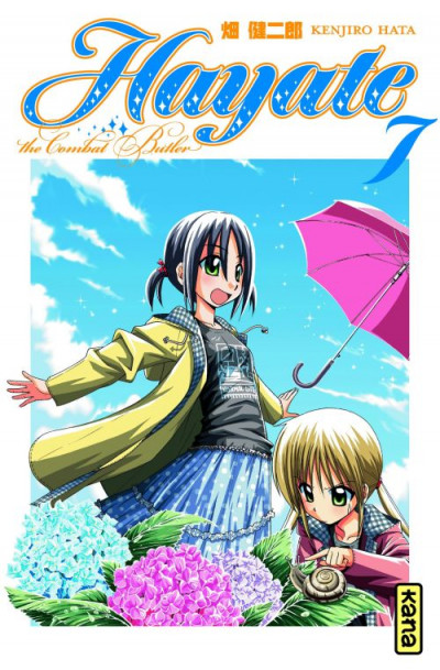 Couverture hayate the combat butler tome 7