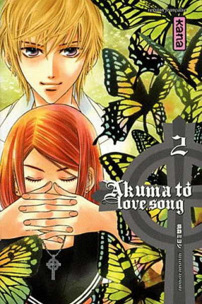 Couverture akuma to love song tome 2