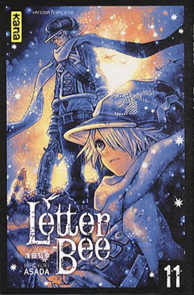 Couverture letter bee tome 11