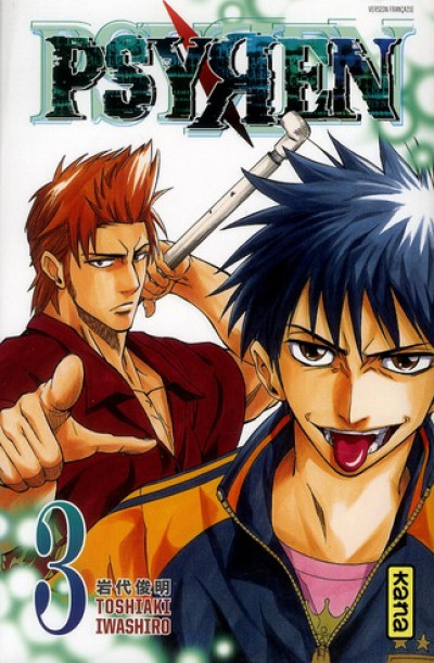 Couverture psyren tome 3