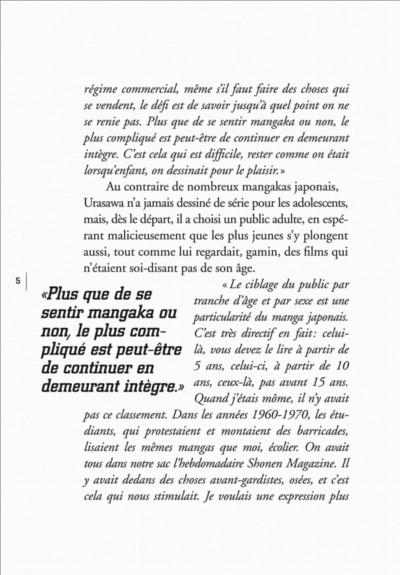 Page 5 histoires courtes de Naoki Urasawa