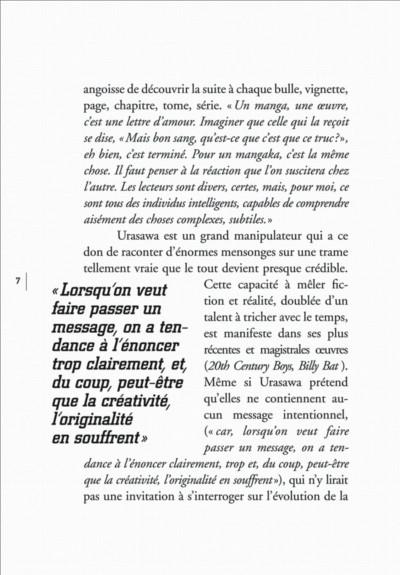 Page 7 histoires courtes de Naoki Urasawa
