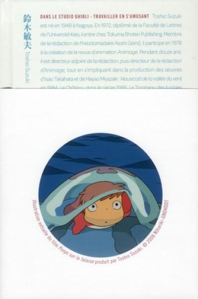 Couverture Dans le Studio Ghibli - Travailler en s'amusant