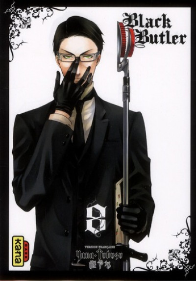 Couverture black butler tome 8