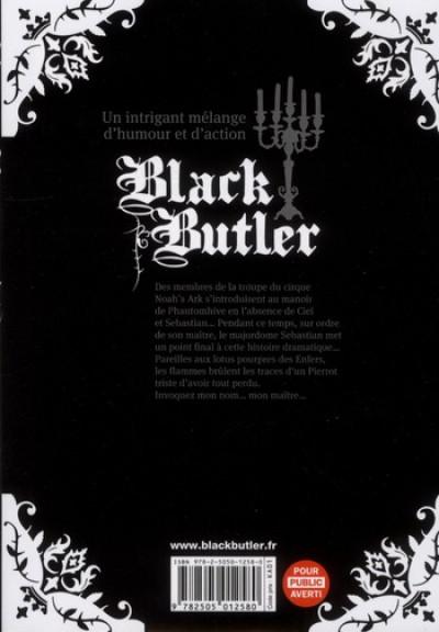 Dos black butler tome 8