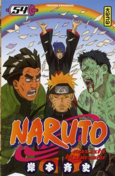 Couverture Naruto tome 54