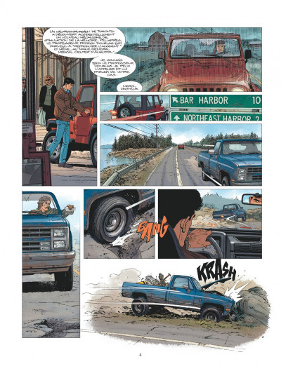 Page 4 XIII tome 20 - le jour du Mayflower