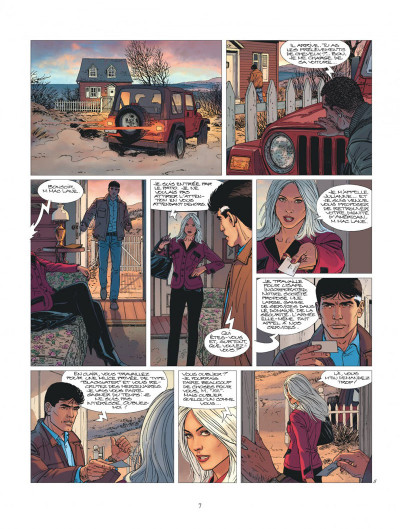 Page 7 XIII tome 20 - le jour du Mayflower