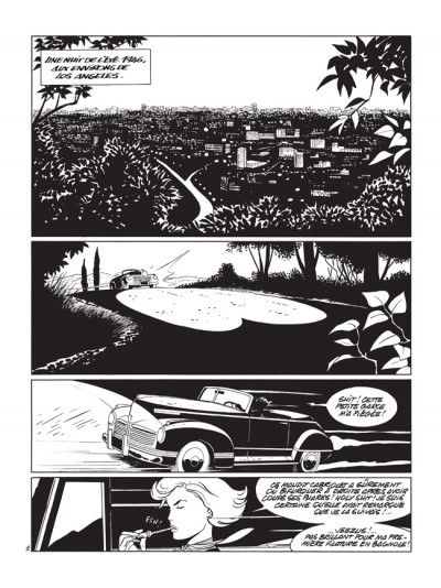 Page 1 pin-up tome 10 - édition luxe N&B - le dossier Alfred H.