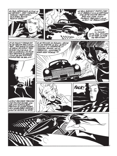 Page 2 pin-up tome 10 - édition luxe N&B - le dossier Alfred H.