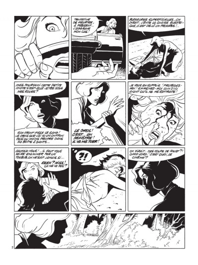 Page 3 pin-up tome 10 - édition luxe N&B - le dossier Alfred H.