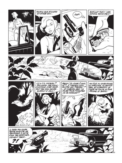 Page 4 pin-up tome 10 - édition luxe N&B - le dossier Alfred H.