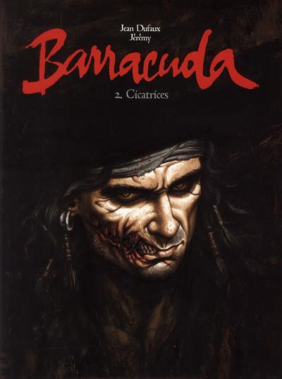Couverture Barracuda tome 2 - édition de luxe N&B