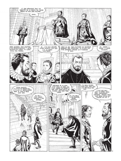 Page 2 Barracuda tome 2 - édition de luxe N&B