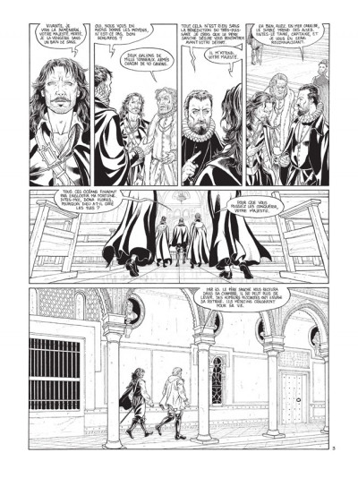 Page 3 Barracuda tome 2 - édition de luxe N&B