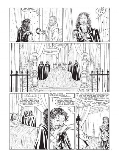 Page 4 Barracuda tome 2 - édition de luxe N&B