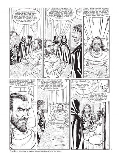 Page 5 Barracuda tome 2 - édition de luxe N&B