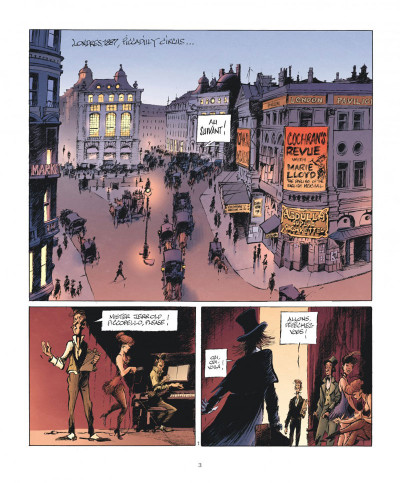 Page 3 Le magicien de Whitechapel tome 1 - Jerrold Piccobello