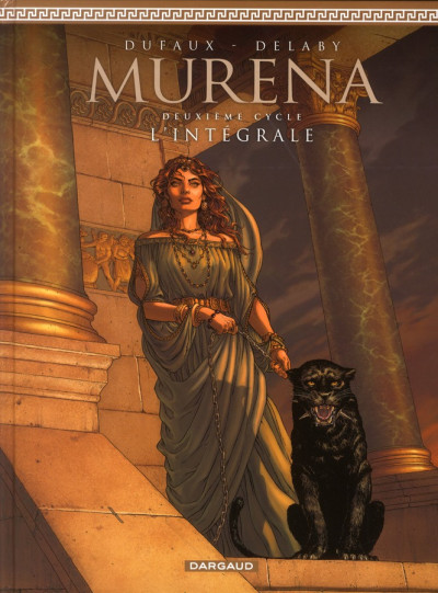 Couverture Murena ; intégrale cycle 2