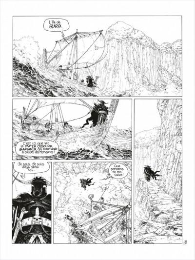 Page 2 complainte des landes perdues - cycle 2 tome 3 - la fée sanctus (n&b)