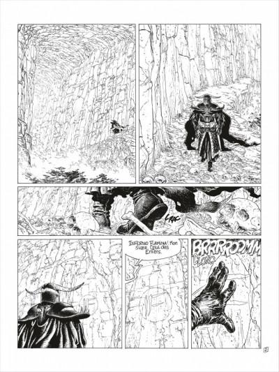 Page 3 complainte des landes perdues - cycle 2 tome 3 - la fée sanctus (n&b)