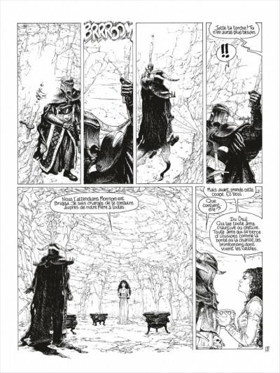 Page 4 complainte des landes perdues - cycle 2 tome 3 - la fée sanctus (n&b)