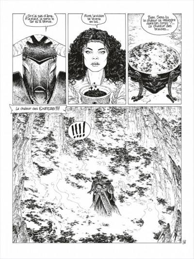Page 5 complainte des landes perdues - cycle 2 tome 3 - la fée sanctus (n&b)