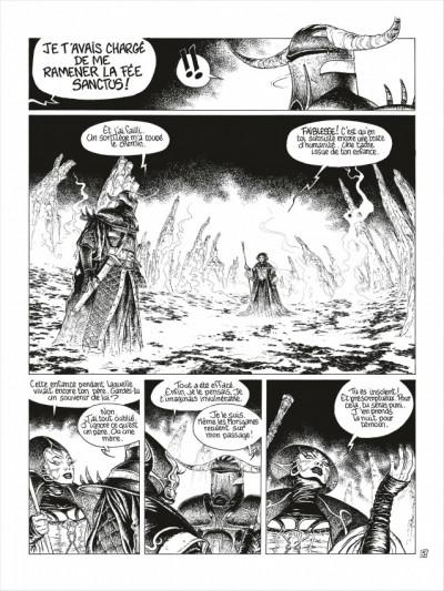 Page 6 complainte des landes perdues - cycle 2 tome 3 - la fée sanctus (n&b)