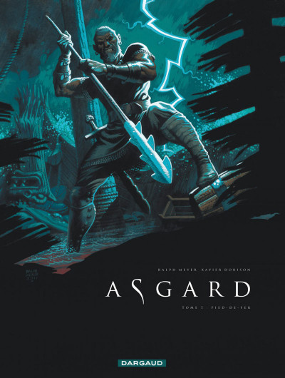 Couverture Asgard tome 1 - Pied de fer