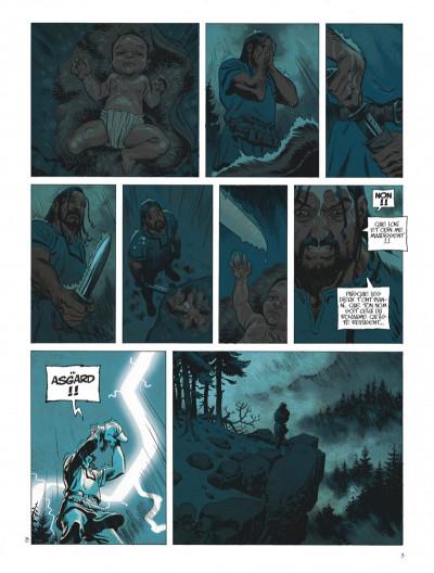Page 5 Asgard tome 1 - Pied de fer