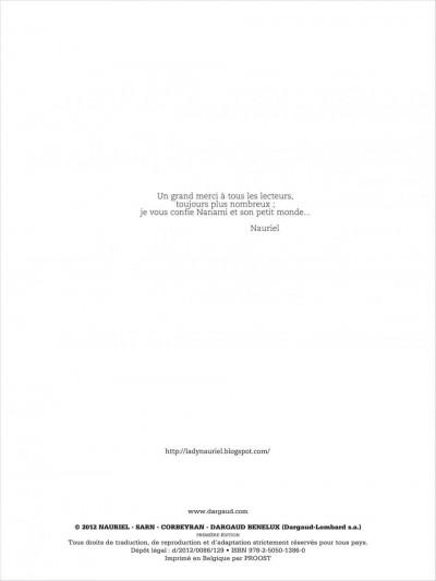 Page 1 nanami tome 5 - le combat final