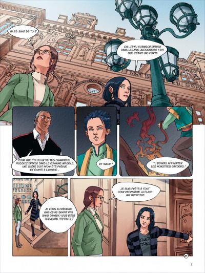 Page 3 nanami tome 5 - le combat final