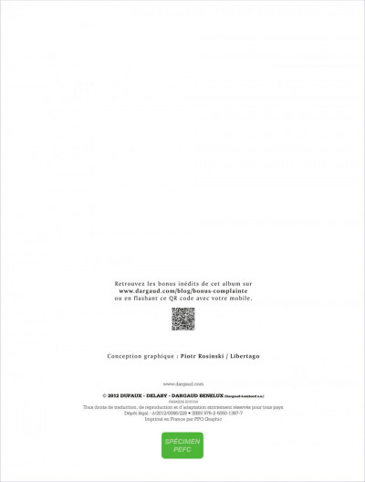 Page 1 complainte des landes perdues - cycle 2 tome 3