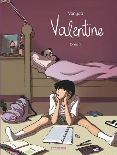 Couverture valentine tome 1