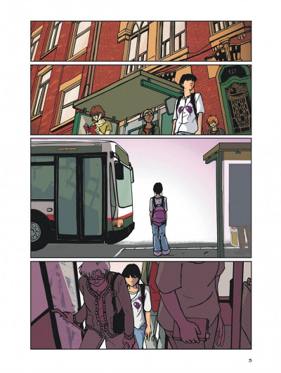 Page 5 valentine tome 1